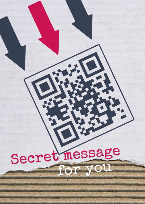 Succes kaarten - Succes QR code You can do it!