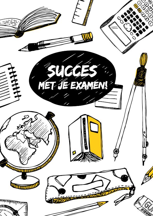 Succes kaarten - Succes studie examen