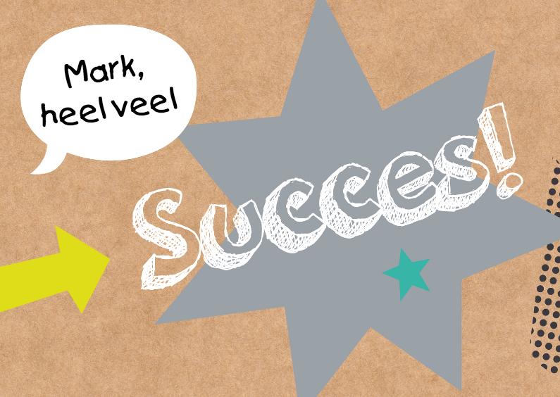 Succes kaarten - Succeskaart-Good luck!-HK