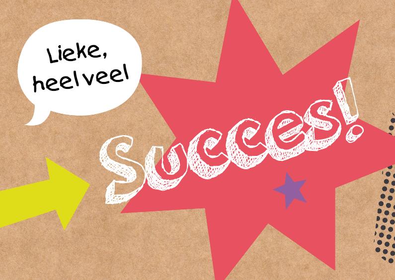 Succes kaarten - Succeskaart-Succes!-HK