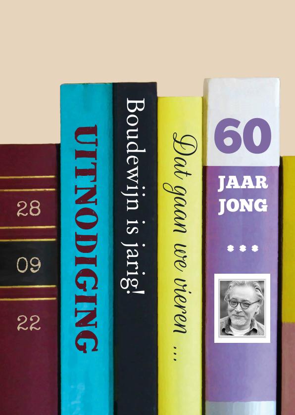 Uitnodigingen - boeken 60 jaar