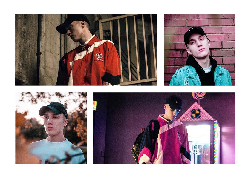 Uitnodigingen - Collage Uitnodiging met 4 foto's