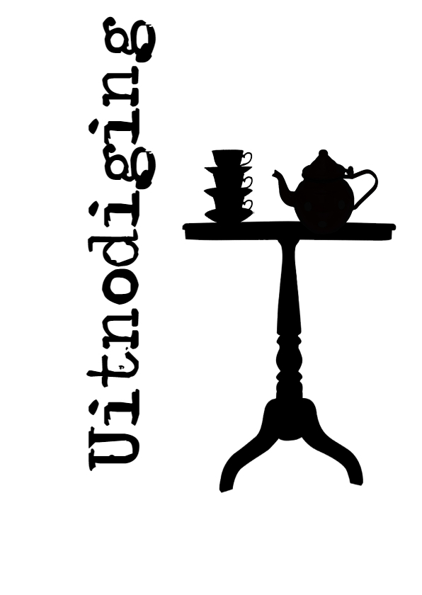 Uitnodigingen - Kaart High Tea