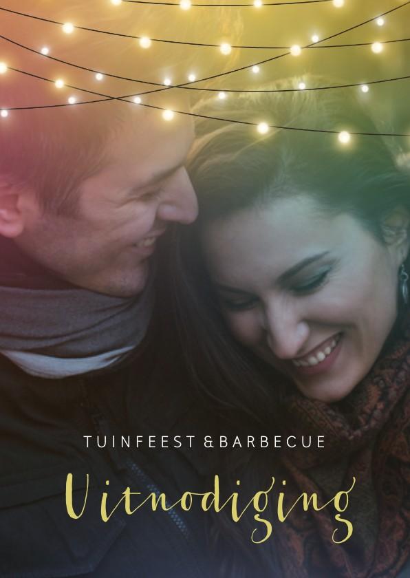 Uitnodigingen - Tuinfeest en barbecue uitnodiging