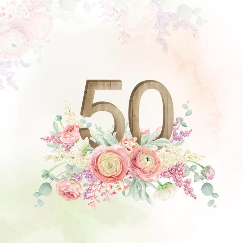 Uitnodigingen - Uitnodiging 50-jarig jubileum