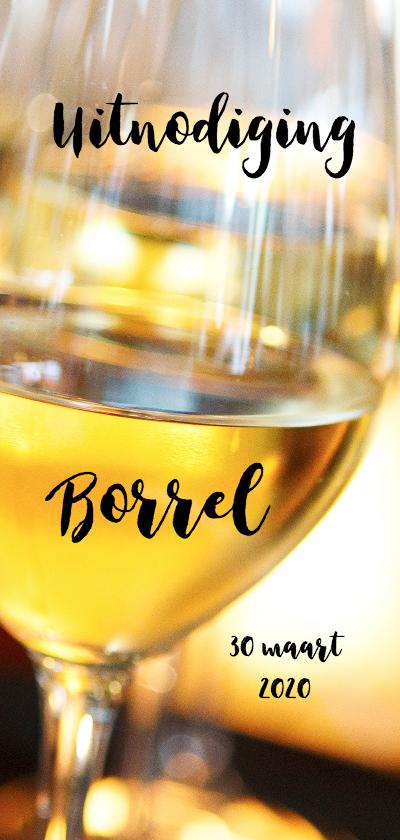 Uitnodigingen - Uitnodiging borrel wijn - OT