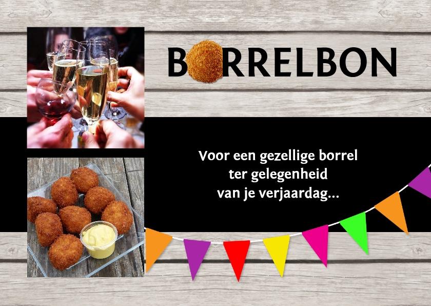 Uitnodigingen - Uitnodiging borrelbon