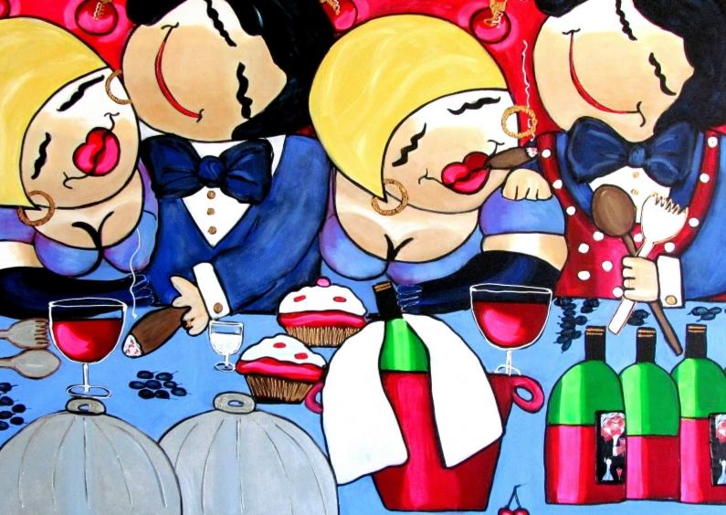 Uitnodigingen - Uitnodiging Het familie diner