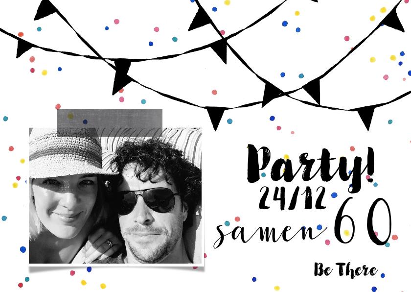 Uitnodigingen - Uitnodiging samen verjaardag