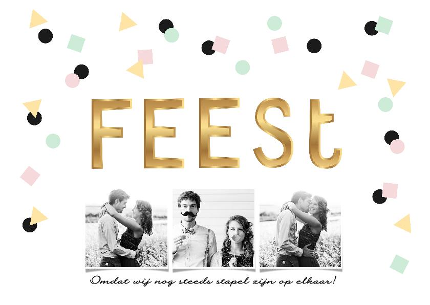 Uitnodigingen - Uitnodiging voor elk tof en hip feest