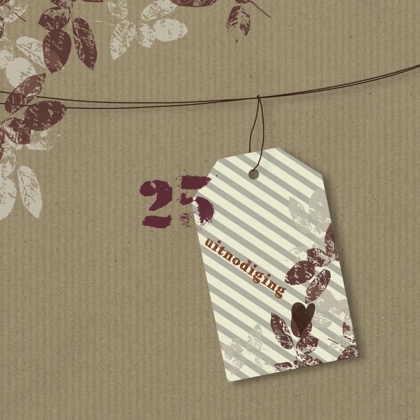 Uitnodigingen - Uitnodigingen Label 25 jaar YO