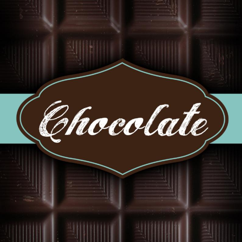 Vaderdag kaarten - Chocoladereep wenskaart vaderdag