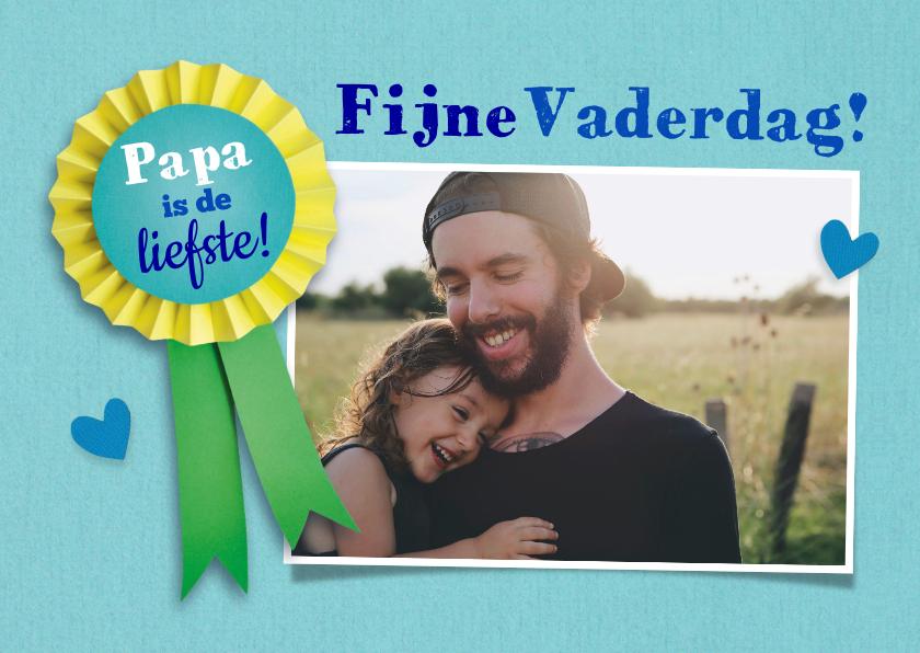 Vaderdag kaarten - Fijne vaderdag fotokaart