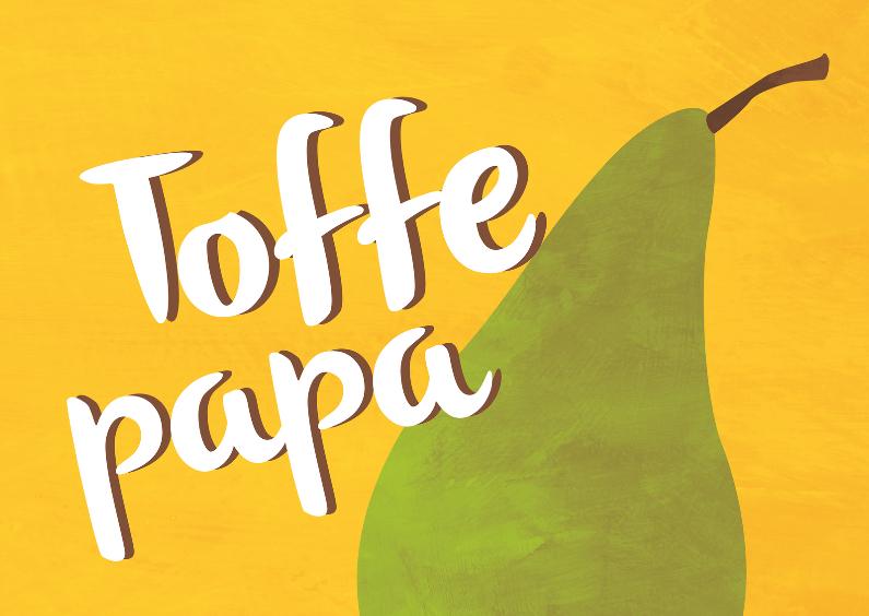 Vaderdag kaarten - Toffe papa