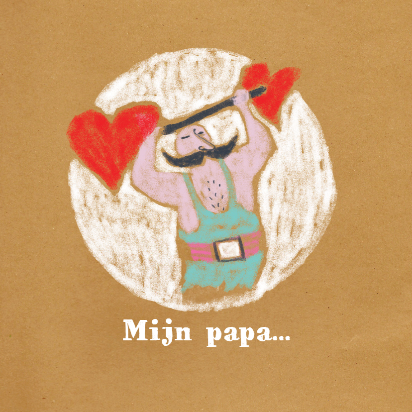 Vaderdag kaarten - Vaderdag - Beste papa - MW
