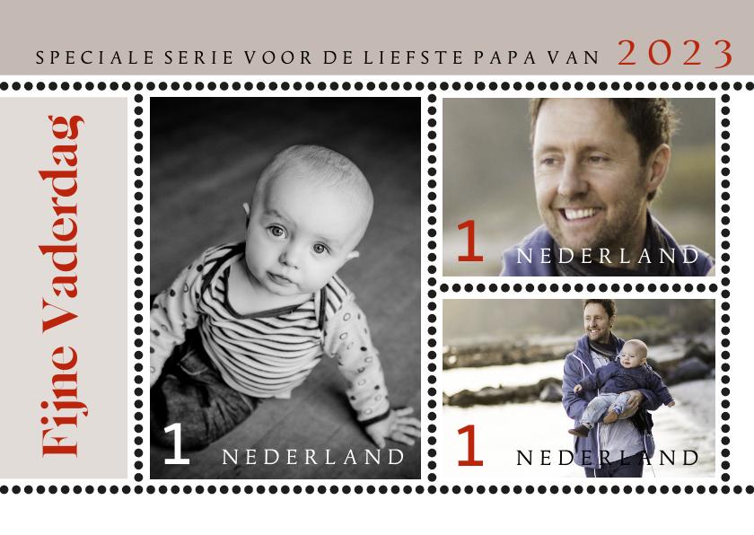 Vaderdag kaarten - Vaderdag speciale postzegels