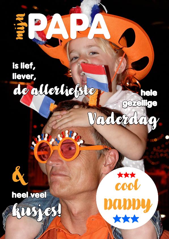 Vaderdag kaarten - Vaderdagkaart - cool daddy 5 - OT