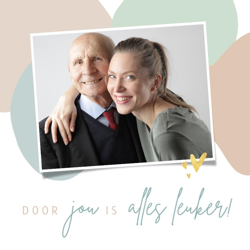 Vaderdag kaarten - Vaderdagkaart voor opa