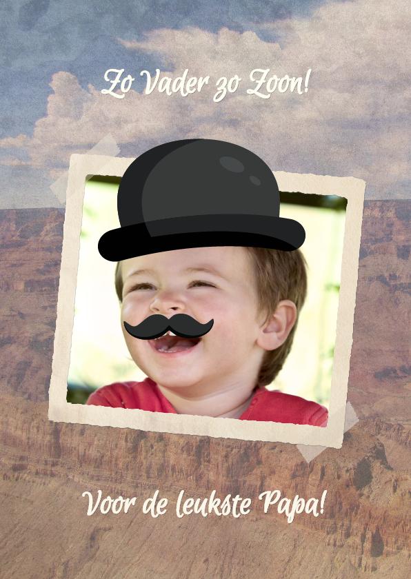 Vaderdag kaarten - Voor de leukste Papa - BK