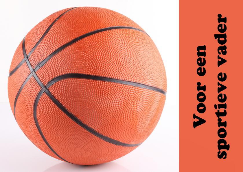 Vaderdag kaarten - Voor een sportieve vader bal