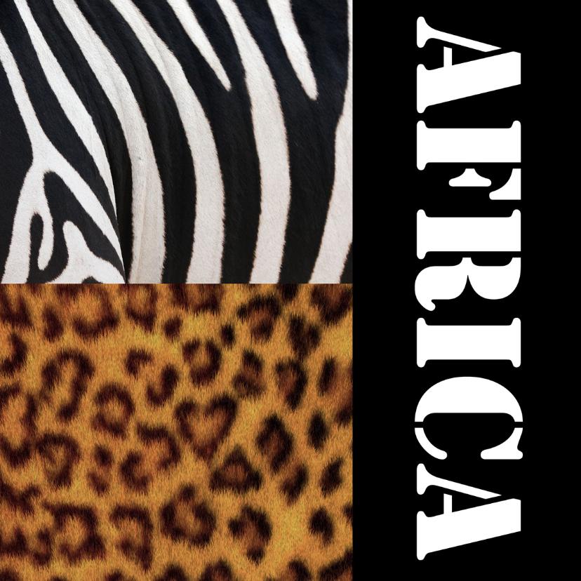 Vakantiekaarten - Africa