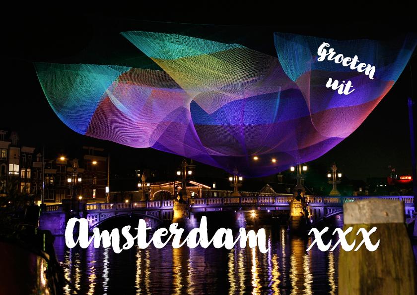Vakantiekaarten - Amsterdam Light Festival 3 - OT