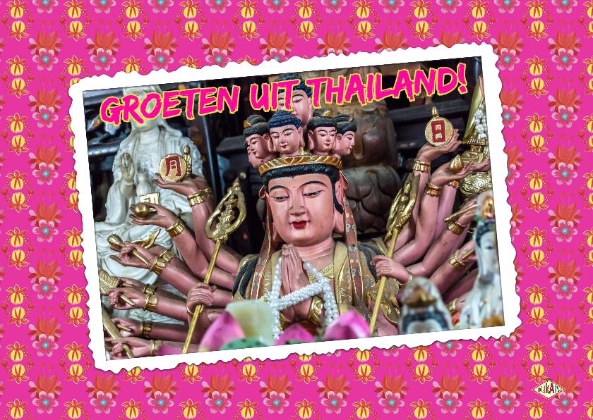 Vakantiekaarten - Ansichtkaart Thailand PA