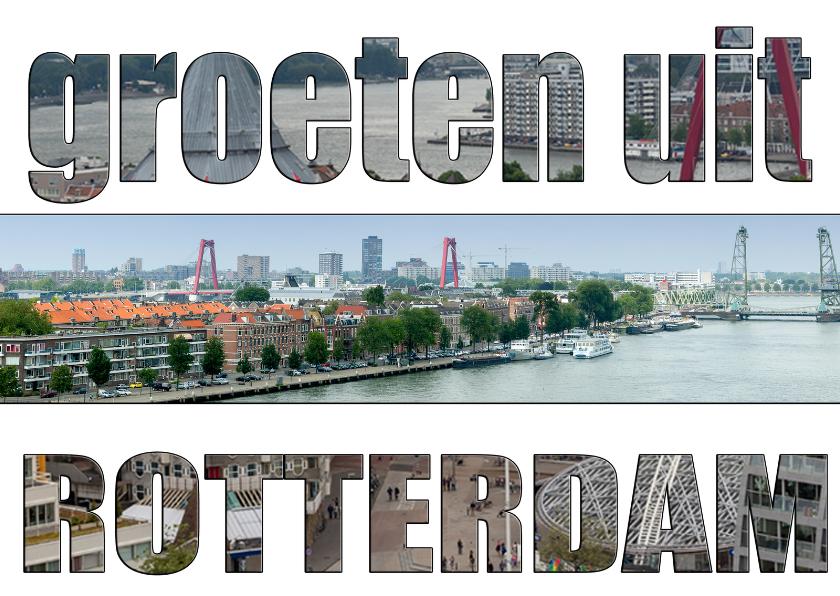 Vakantiekaarten - Ansichtkaarten Rotterdam MM
