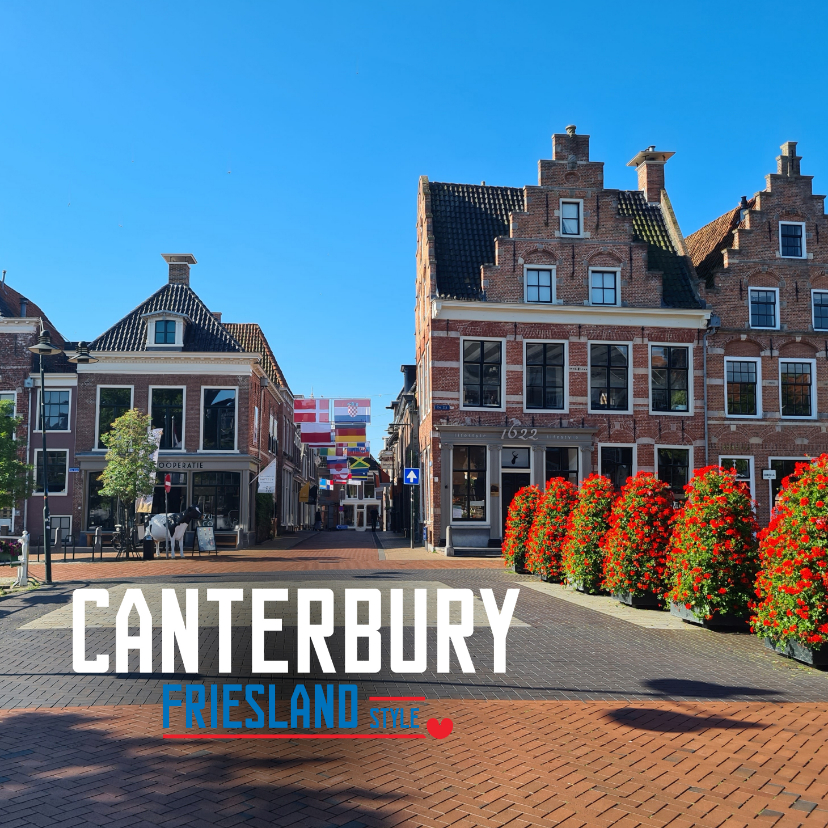 Vakantiekaarten - Canterbury Friesland Style