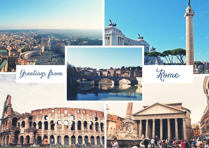 Vakantiekaarten - De groeten... Rome - DH