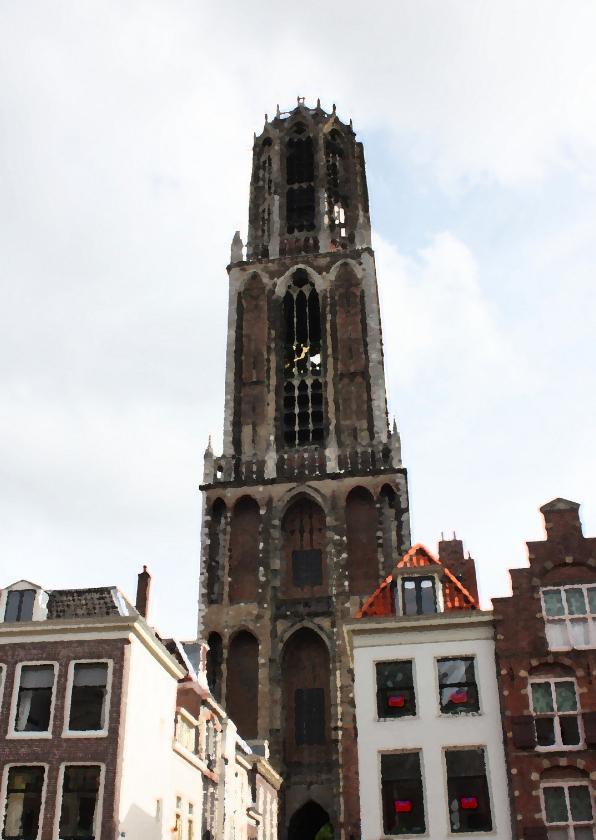 Vakantiekaarten - Dom in Utrecht