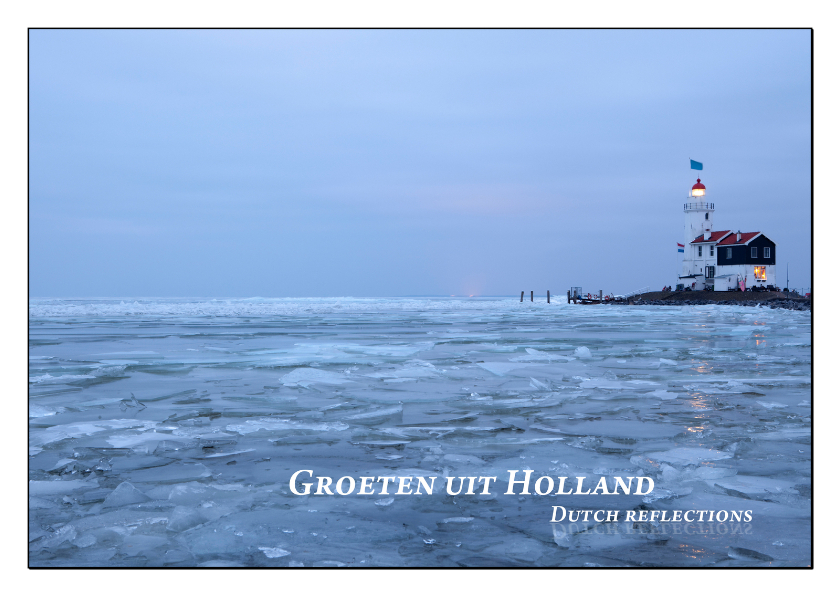 Vakantiekaarten - Dutch Reflections IX