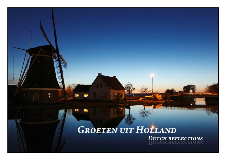 Vakantiekaarten - Dutch Reflections VI