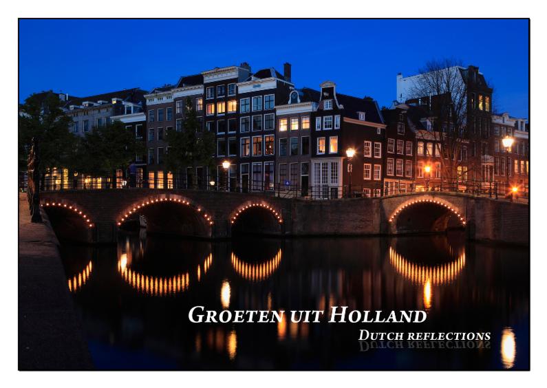 Vakantiekaarten - Dutch Reflections VIII