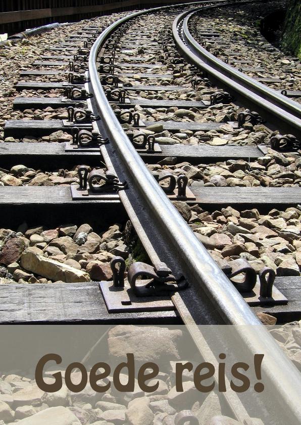 Vakantiekaarten - Goede reis Trein