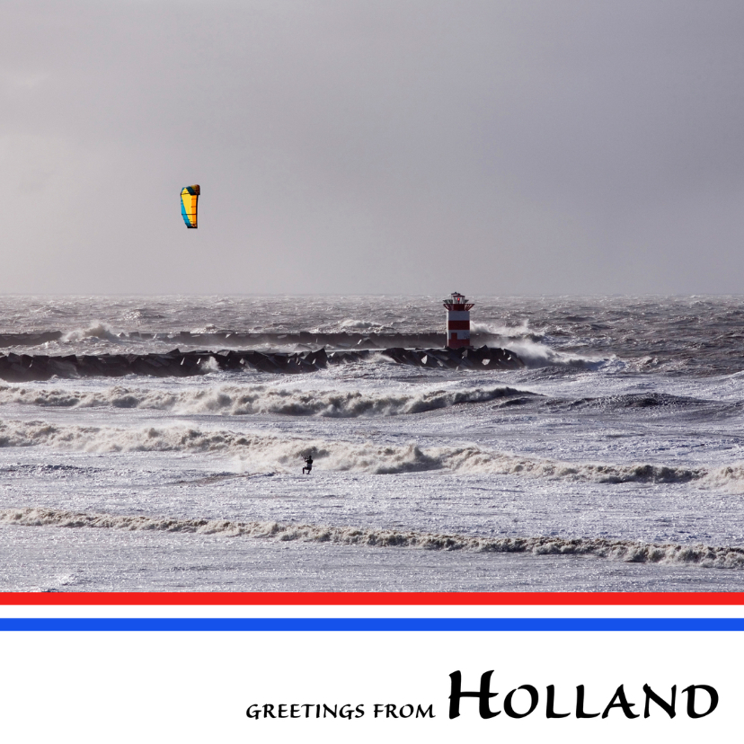 Vakantiekaarten - Greetings from Holland XVI