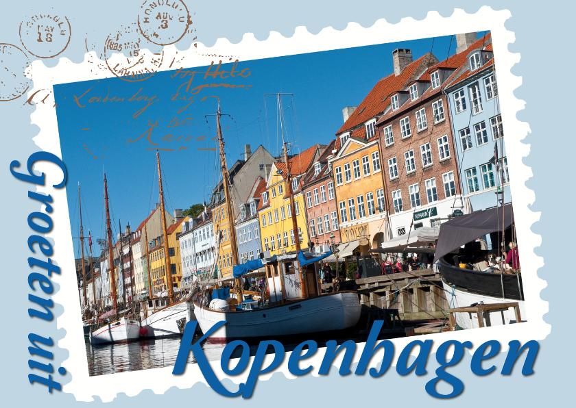 Vakantiekaarten - Groeten ui Kopenhagen