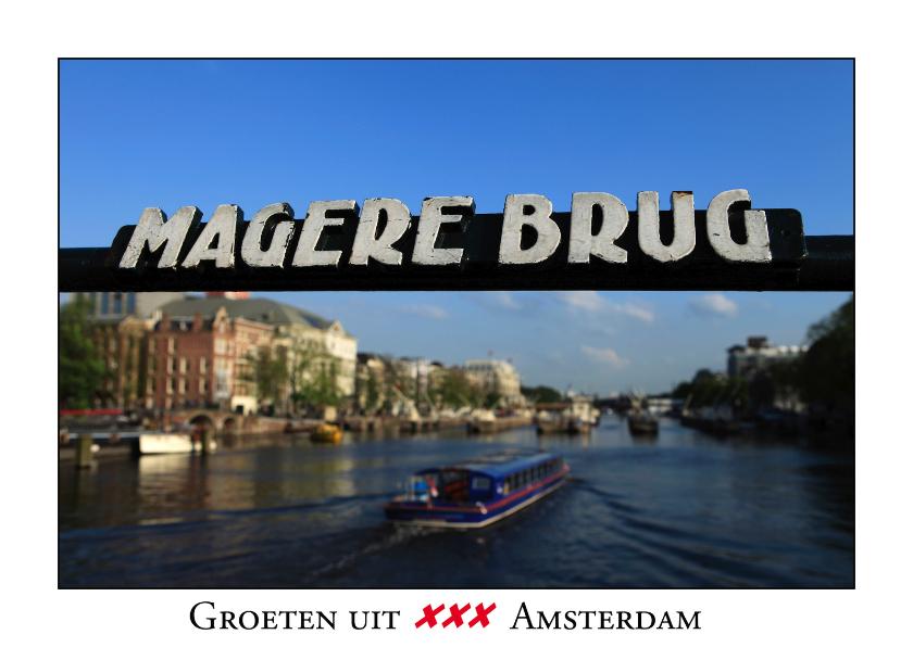 Vakantiekaarten - Groeten uit Amsterdam XI