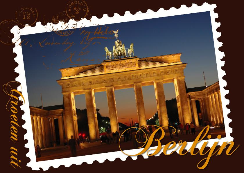 Vakantiekaarten - Groeten uit Berlijn