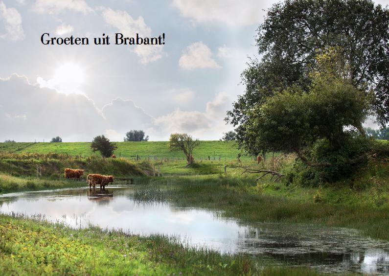 Vakantiekaarten - Groeten uit Brabant