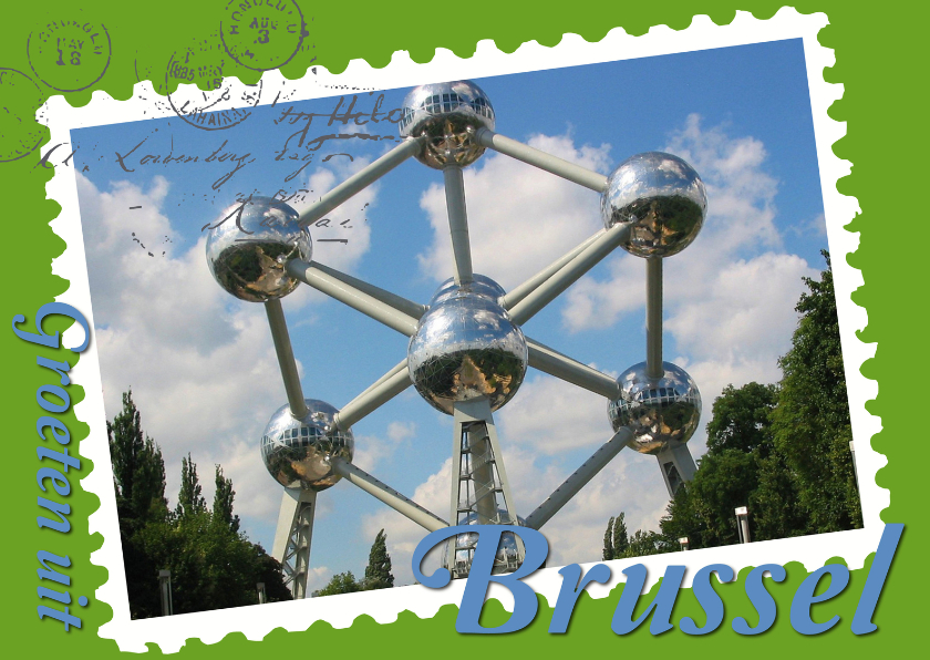 Vakantiekaarten - Groeten uit Brussel