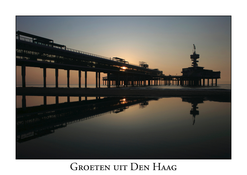 Vakantiekaarten - Groeten uit Den Haag IV