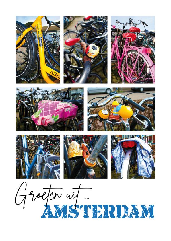 Vakantiekaarten - Groeten uit Holland - fietsen