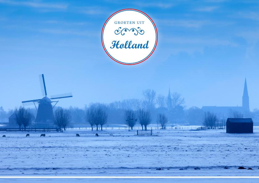 Vakantiekaarten - Groeten uit Holland LIV