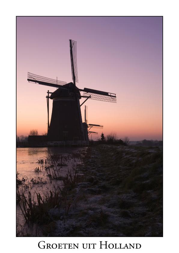 Vakantiekaarten - Groeten uit Holland XVII