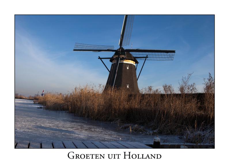 Vakantiekaarten - Groeten uit Holland XXVII