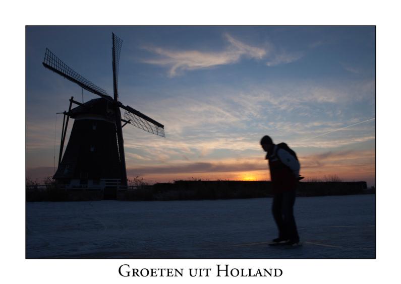 Vakantiekaarten - Groeten uit Holland XXVIII