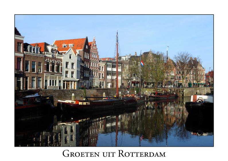 Vakantiekaarten - Groeten uit Rotterdam IX