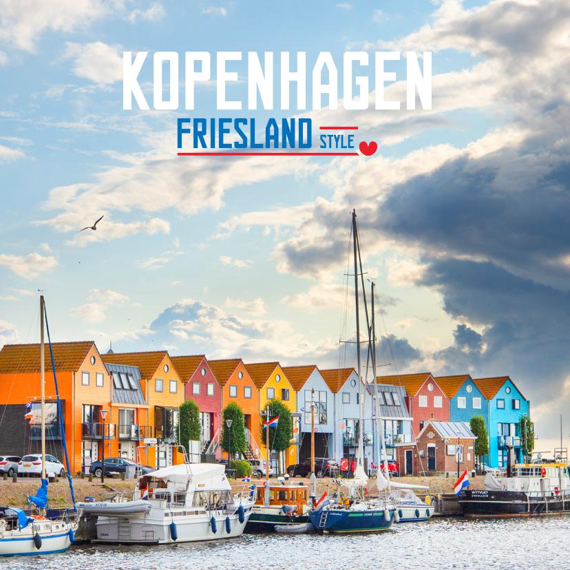 Vakantiekaarten - Kopenhagen Friesland Style