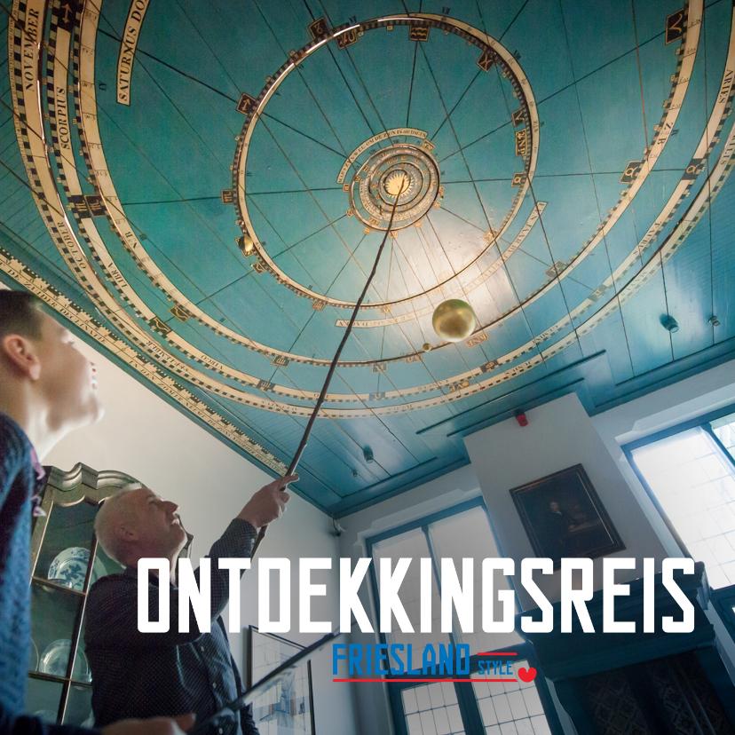 Vakantiekaarten - Ontdekkingsreis Friesland Style